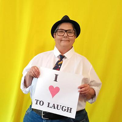 Angela De Castro: Laughing Matters